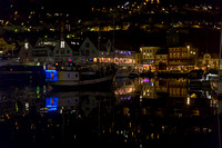 Night time in Bergen, Norway